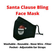 Christmas Minnie Holiday Face Mask
