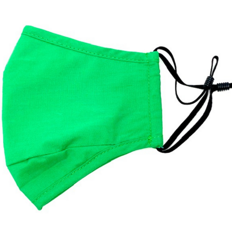 Green Reusable Cloth Face Mask