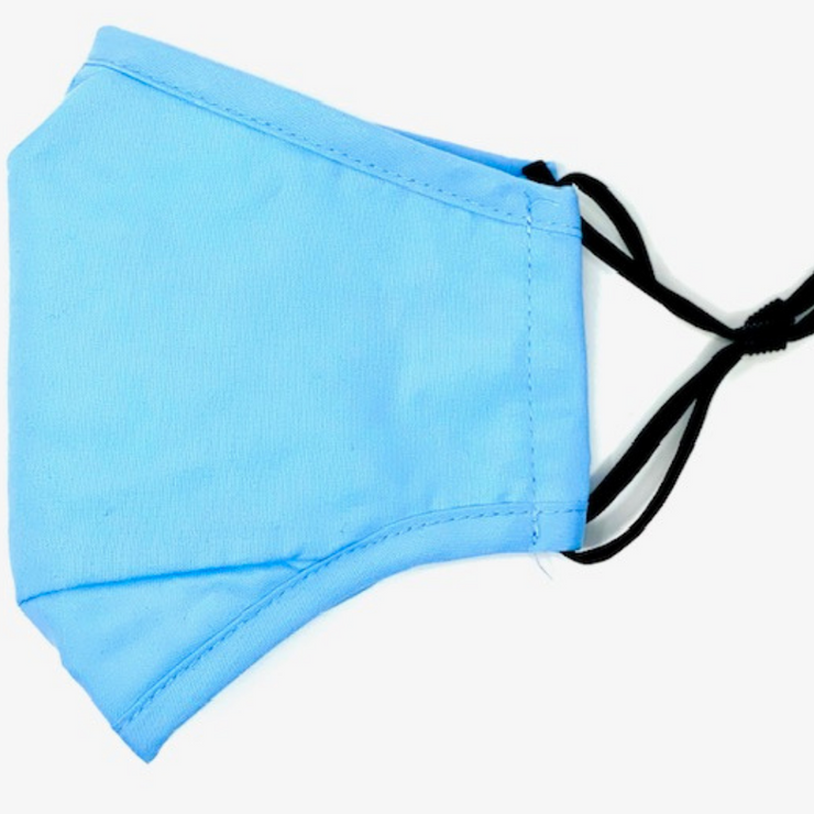 Light Blue Reusable Cloth Face Mask