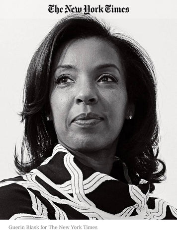 First Female Dean of Wharton, Erika James, wears Paula Hian in The New York Times