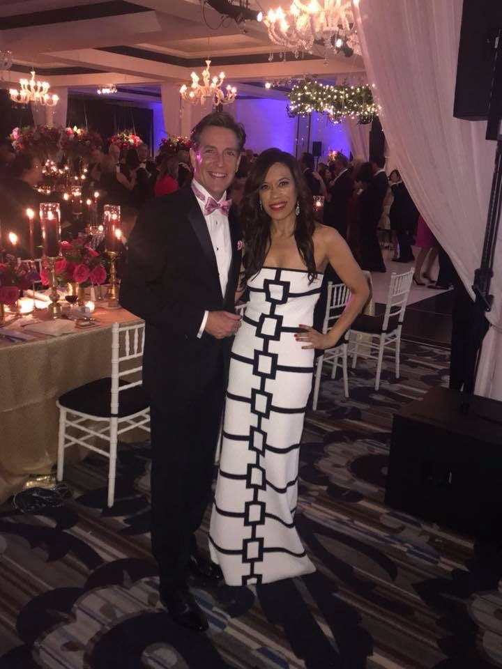 Natasha Brown of CBS Philly Wears Paula Hian While Supporting Susan G. Komen