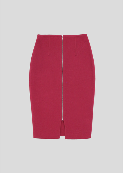 Angeletta – High Waist Tweed Pencil Skirt