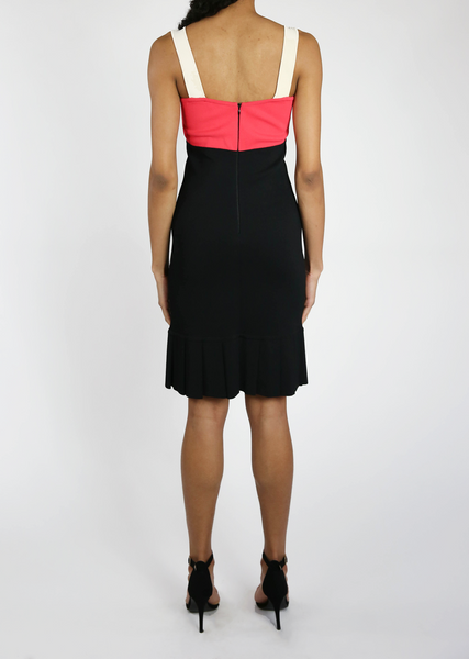 Lisa - Multicolor Color Block Dress