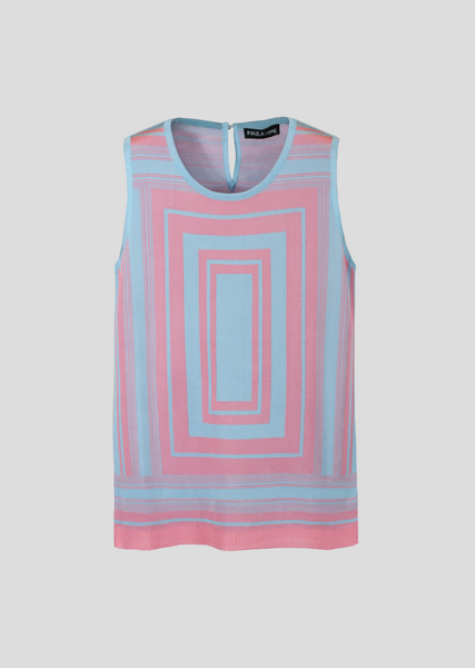blue/pink stripe