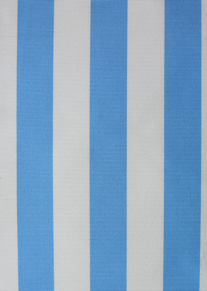 cotton faille blue/white stripe