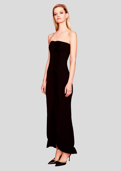 Liliane - Knit, Strapless Formal Evening Gowns
