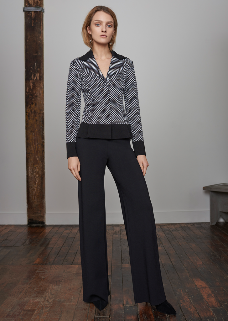 Lorraine - Milano Knit High Waisted Dress Pants