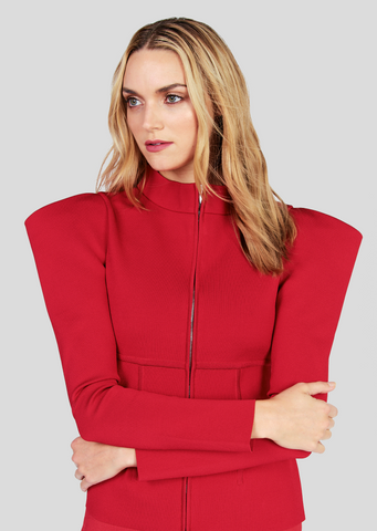 Narcisse – Exaggerated Shoulder Jacket