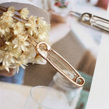 Gold Hair Pin & Hairband