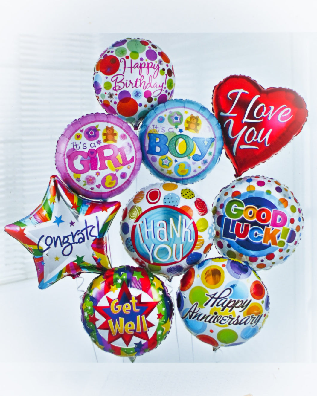 Add a Celebration Helium Balloon