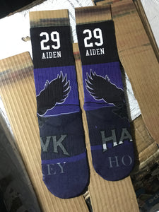 Customized sock- All over print- Custom elite socks - DopeSoxOfficial