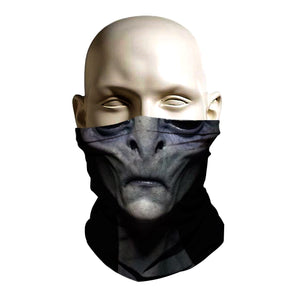 Ski Mask - Alien face design - FashionGorilla