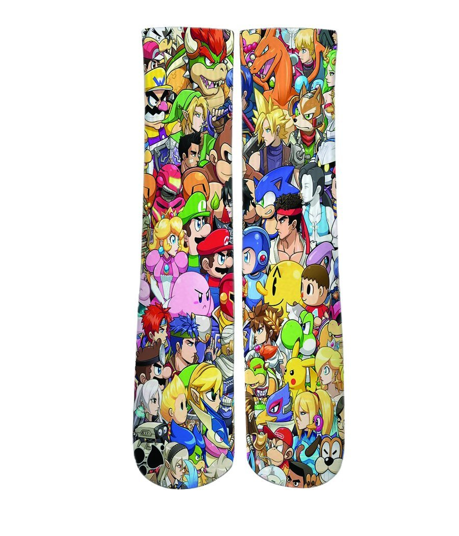 cartoon socks- dope sox