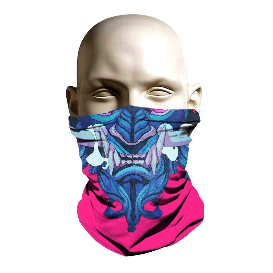 Face Shield - Ancient Samurai design