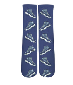 Cool Socks- Nike Air Jordan Drip printed crew socks