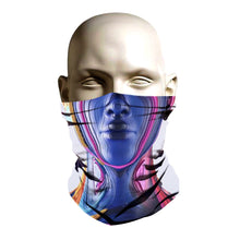 Load image into Gallery viewer, Face Shield - Future Robot Chick design
