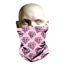 Load image into Gallery viewer, Face Shield - Pink Diamond design
