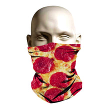 Load image into Gallery viewer, Ski Mask - Pepperoni Pizza Design