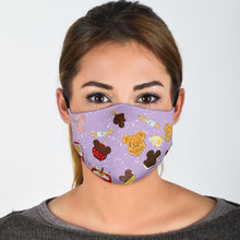 Load image into Gallery viewer, PRE-ORDER Purple Snacks Filter Mask - Little Shop of Geeks