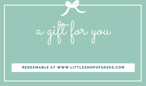 Gift Card - Little Shop of Geeks