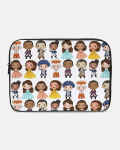 Hamilton Inspired Laptop Sleeve - Little Shop of Geeks