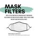 PRE-ORDER Work! Schuyler Sisters Face Mask with Filter