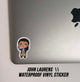 Waterproof Durable Vinyl Sticker - John Laurens - Little Shop of Geeks