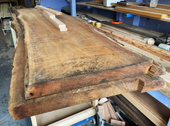 board game table timber