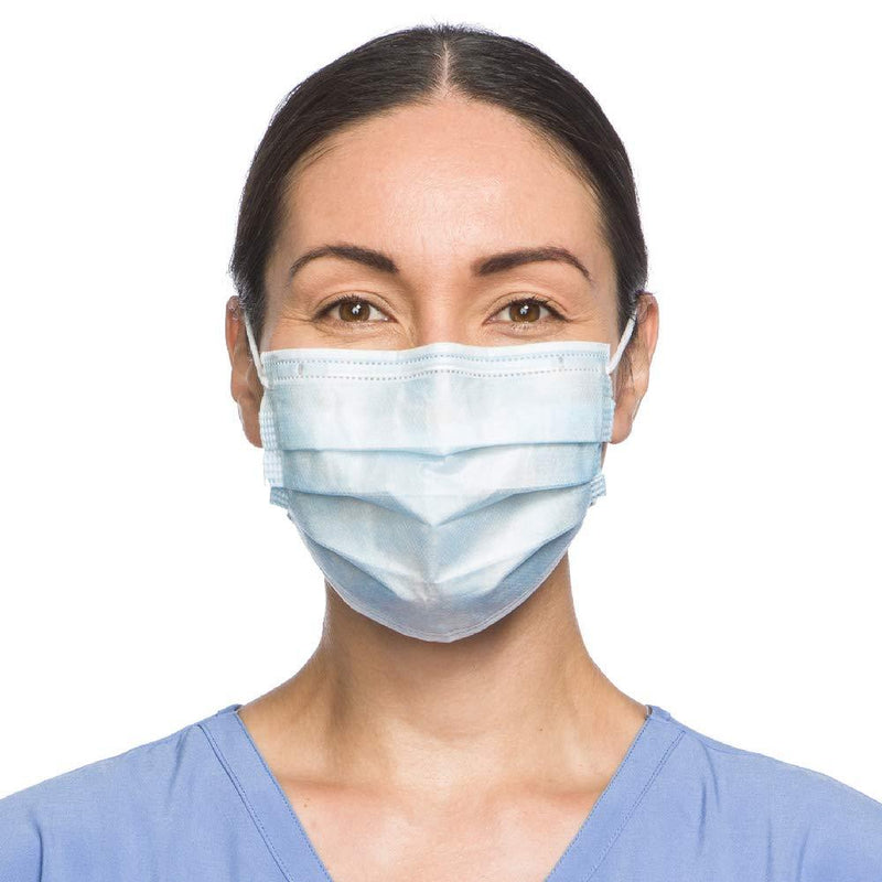Disposable Face Mask Made In USA By Halyard Health - 50/box - Primo Dental Products