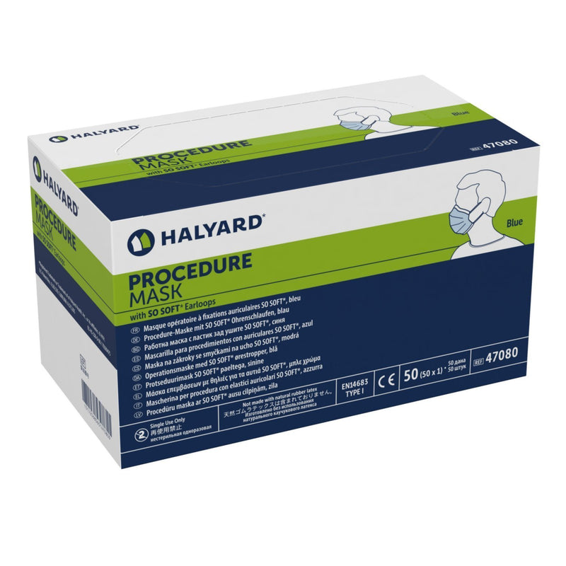 Halyard Health Disposable Surgical Earloop Mask (Made in USA) - 50/box - Primo Dental Products