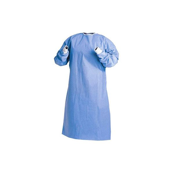 Isolation Gown - Blue (1 pk) - Primo Dental Products