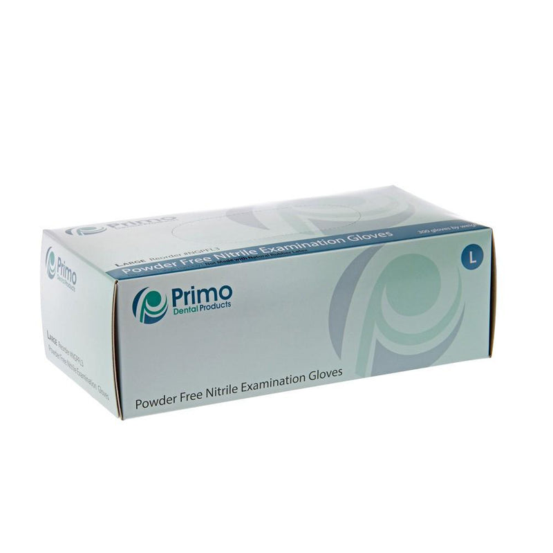 Powder Free Nitrile Gloves (300/box) - Primo Dental Products