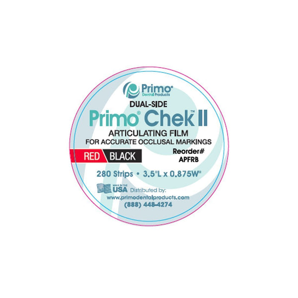 Primo Chek ll™ Articulating Paper Film - Primo Dental Products