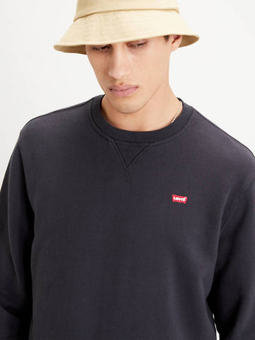 LEVI'S NEW ORIGINAL SWEATSHIRT BLACK