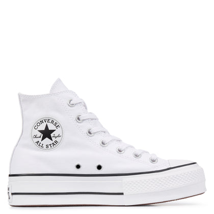 CONVERSE Chuck Taylor All Star Platform High Top White