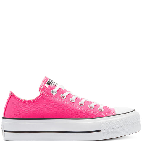 CONVERSE Color Platform Chuck Taylor All Star Low Top