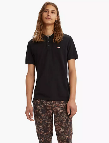 LEVI'S STANDARD HOUSEMARK POLO Black