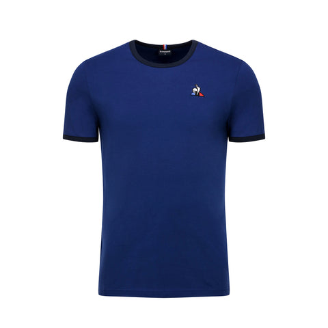 LE COQ SPORTIF T-SHIRT ESSENTIELS Working Blue