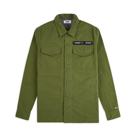 TOMMY JEANS VELCRO OVERSHIRT