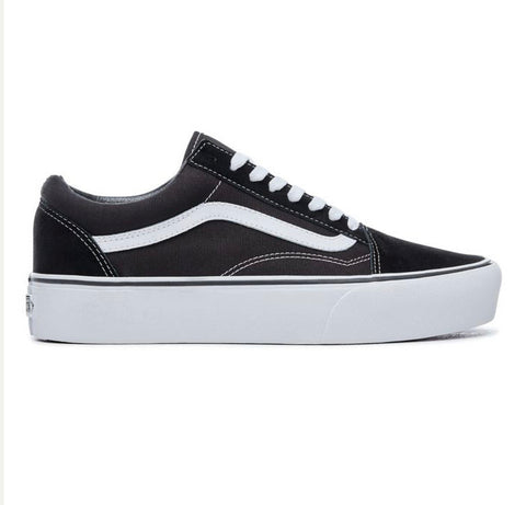 VANS OLD SKOOL PLATFORM Black/White VN0A3B3UY28