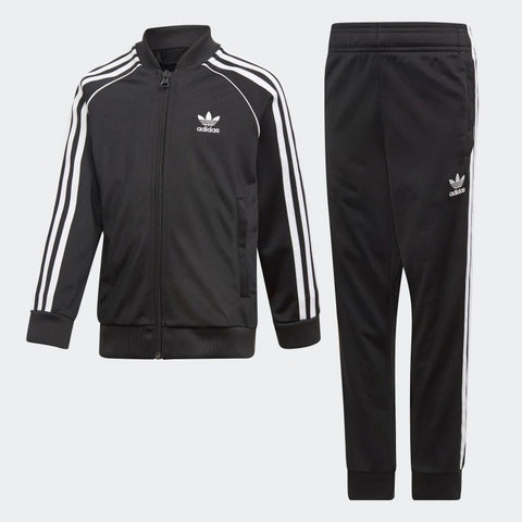 ADIDAS TRACK SUITE SST Tuta Children BLACK DV2849