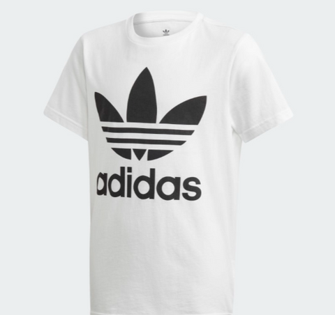 ADIDAS TREFOIL TEE White Junior