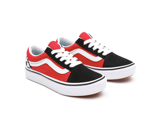 VANS CHECKERBOARD COMFYCUSH OLD SKOOL JUNIOR