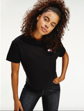 TOMMY JEANS T-SHIRT CON DISTINTIVO TOMMY Black