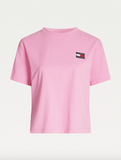 TOMMY JEANS T-SHIRT CON DISTINTIVO TOMMY PINK DAISY