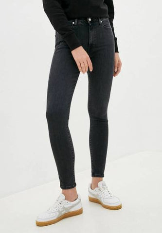TOMMY JEANS SYLVIA SUPER SKINNY NERO