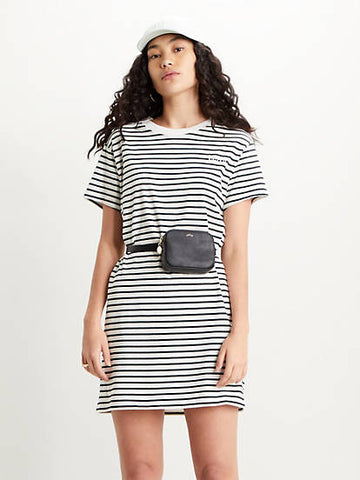 LEVIS Lula Tee Dress White/Black
