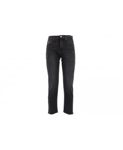 TOMMY JEANS IZZY High Rise Slim Ankle CKBK Black