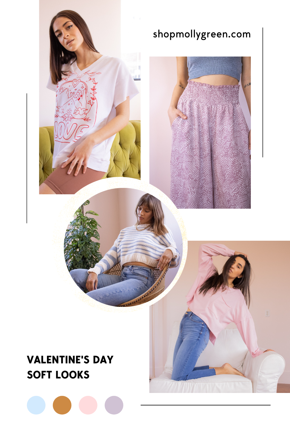 soft looks for valentine's day