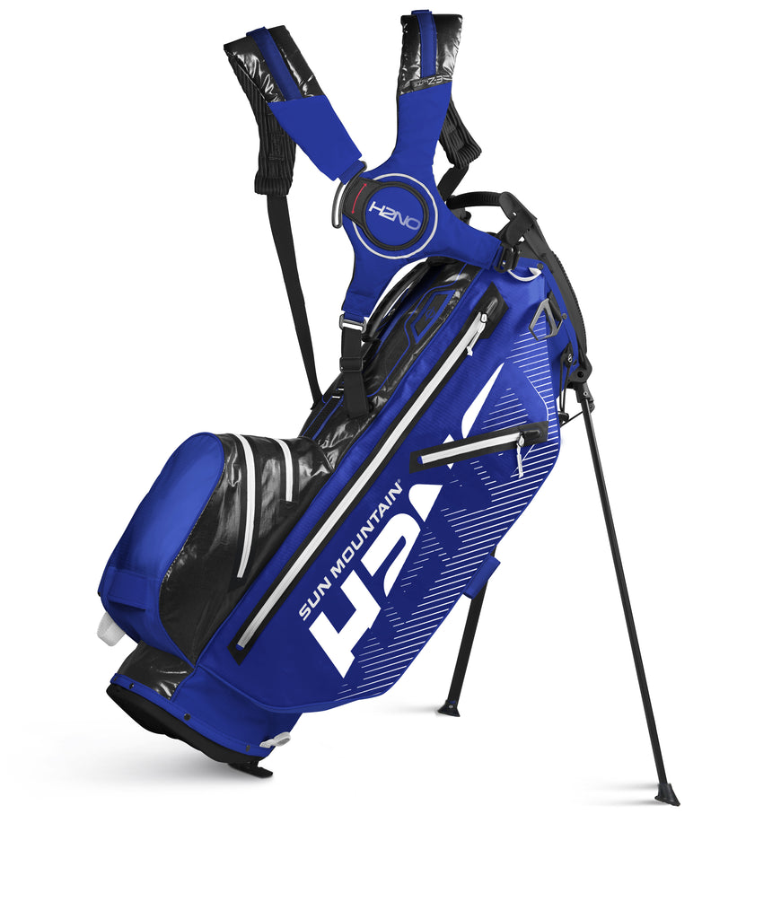 Sun Mountain H2NO 14-Way Golf Stand Bag - Blue/Black